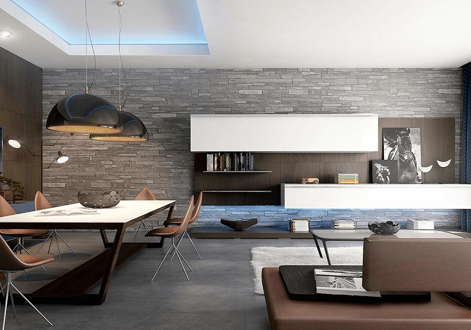 Indoor living remodeling